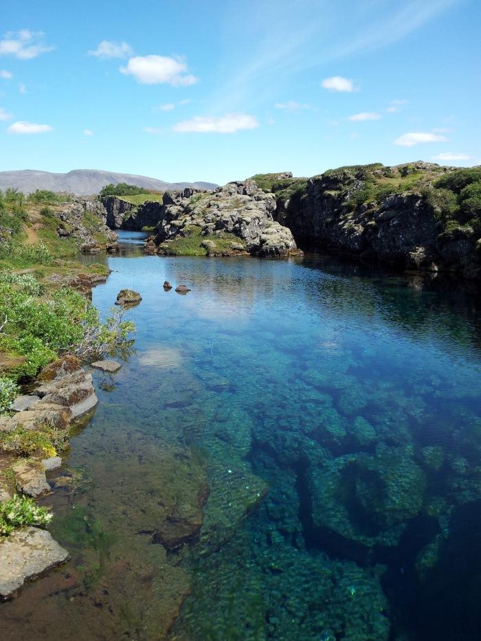 Cold Water at Þingvellir