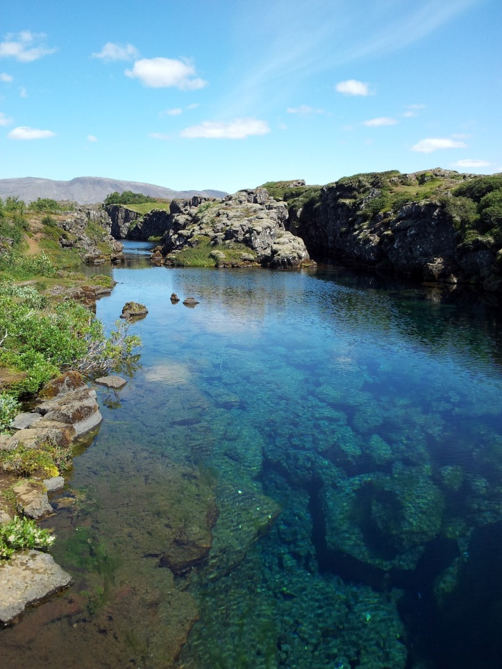 Cold Water at Þingvellir