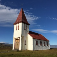 Church, Hellnar, Iceland