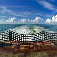 Ferry Wake, Ocracoke-Hatteras