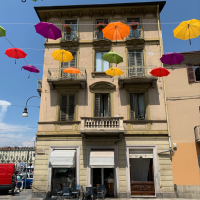 Umbrellas, Turin